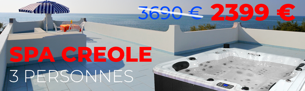 Spa creole 3 personnes